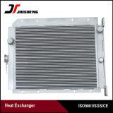 Barra-Placa - radiador de aluminio del petróleo de la aleta para Kobelco