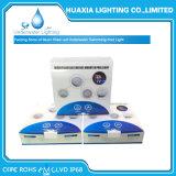 luz subacuática montada superficie cambiante de la piscina de la lámpara del color LED de 12V RGB
