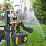 Système d'irrigation de charge de panneau solaire avec le rupteur d'allumage de l'eau d'arroseuse de 4 soupapes