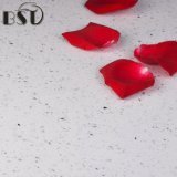 Плитка камня кварца искусственного Sparkle белая для лестницы, пола