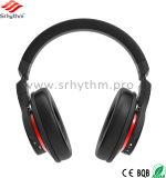 La radio su ordinazione di marchio del fornitore mette in mostra il disturbo di Bluetooth della cuffia che annulla la cuffia avricolare stereo di musica
