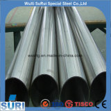 Acero inoxidable AISI270/ASTM y DIN/en el espejo sanitario ensamblada tubo tubo/