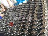 Valvola a farfalla sanitaria della saldatura di testa dell'acciaio inossidabile