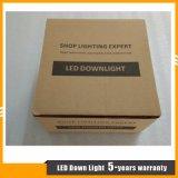 ÉPI commercial de l'éclairage 30W de plafond DEL Downlight avec la garantie 5years