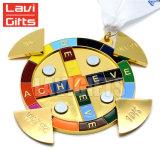 De hete Medailles van de Sporten van de Douane van de Verkoop met Lint en Zacht Email