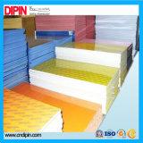 Venda de material de construção de folha de gravura a laser colorida duplo