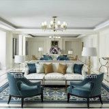 Venda por grosso de mobiliário estrelas Hotel sofá com mesa de chá