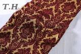 Grande tessuto del sofà del jacquard del Chenille dei fiori da 400GSM