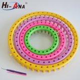 Telar circular, alto telar plástico del sombrero de la calidad, telar que hace punto redondo