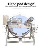 100L 200 L 300 L revestimiento térmico eléctrico hervidor de agua con emulsionante