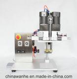 Máquina de cristal el capsular de tornillo de la cápsula del vector de escritorio