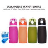 550ml 5 цветы BPA освобождают бутылку воды силикона
