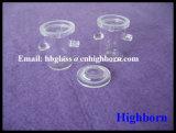 Hitzebeständigkeit-transparenter Silikon-Quarz-Glas-Tiegel mit Kappe