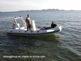 Liya nervure 5,2 m Bateau Bateau gonflable Hypalon bateau de patrouille militaire
