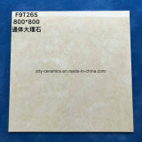 中国の床タイル完全なボディ大理石の石の床タイルの建築材料
