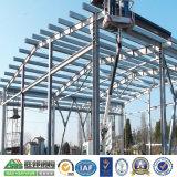 Depósito de elementos estruturais de aço prefabricadas