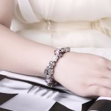 Het hete Glas van de Verkoop DIY parelt de Kunstmatige Juwelen van de Armband van de Armband