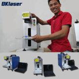 Cnc-Farben-elektronische Faser-Laser-Markierungs-Maschine für Strichkode