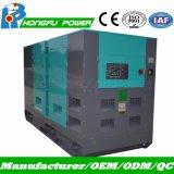 Звуконепроницаемые электроэнергии Cummins генераторах 90квт 100 квт для охлаждения воды