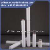 中国の卸し売り工場10マイクロ10inchのクイックチェンジのプリーツをつけられたカートリッジフィルター