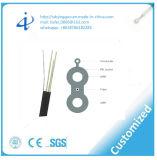 Dirigir el cable de gota óptico plano enterrado de fibra con negro