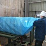 Blaue Baumwolltasche aus Polyäthylen