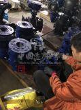 Шестерня 2PC колеса глиста турбины Wcb стали углерода служила фланцем шариковый клапан