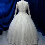 Vestido de casamento nupcial muçulmano da alta qualidade quente da venda