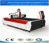 Máquina de corte a laser CNC mesa garantia comercial Cortador de fibra de laser para a China de Metal