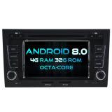 Automobile DVD del Android 8.0 di memoria di Witson otto per Audi A4