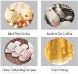 Nueva cortadora automática de la materia textil que introduce y del laser de la tela