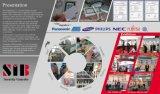 Leitor de cartão duplo do cartão RFID da freqüência RFID do cartão Rewritable feito sob encomenda do baixo custo RFID