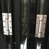 Neues Produkt-thermisches Bruch-Doppelt-Glasaluminiumlegierung-Falz-Tür