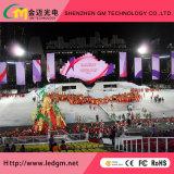Elektronische Banner die Binnen LEIDENE van de Huur P3.91 VideoMuur adverteren
