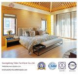 Muebles sucintos del dormitorio del hotel de la estrella del estilo fijados con el banco (YB-WS-72)