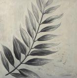 Décoration murale feuilles tombées à la main Peinture Peinture Huile sur toile