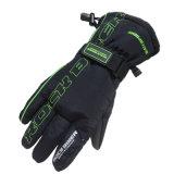スポーツの手袋を競争させるFgv017grの冬のタッチ画面の防水防風のオートバイ