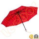 風のための最もよい3本の折る女性自動傘