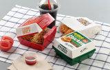 Personalizado de calidad aceptable de cajas de cartón barato para el Hamburger