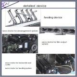 Automatischer Wegwerfarbeitsweg-Produkt-Kissen-Beutel-Verpackmaschine