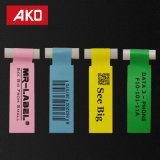 El OEM valida escrituras de la etiqueta autas-adhesivo de los productos de las etiquetas engomadas