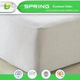 Las ayudas impermeables del protector del colchón de Terry protegen ajuste fácil lavable de la máquina de la base