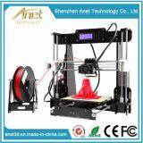 Imprimante bon marché d'OEM 3D de machine de bureau de l'imprimante 3D de marketing direct d'usine d'Anet A8