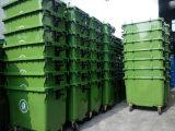 scomparto residuo dell'HDPE esterno 660L/contenitore di plastica
