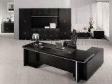 Mesa popular preta da parte alta, mesa do gerente, mobília de escritório (SZ-OD159)