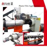 Singolo film di materia plastica della vite pp che ricicla la riga di pelletizzazione del granulatore