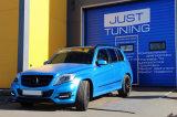 Roadster Utilice Golfo Azul Metalizado PVC película de vinilo