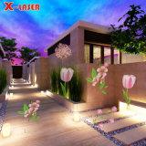 20 imagens Garden House Decoration Natal Projetor de iluminação LED
