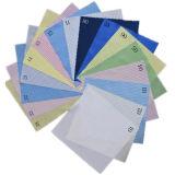 Tela de nylon del ESD de la tela de la tela del poliester para la ropa del recinto limpio