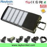 Luz da Caixa de Peneira de montagem ajustável 250W, o LED de luz de estacionamento Street 250W